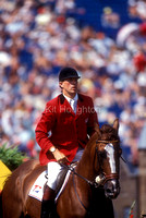 Piet Raymakers (NED) and Visa Amadeus Z World Equestrian Games 1994 SJ145-02-21.JPG