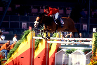 Michael Whitaker (GBR) and Midnight Madness World Equestrian Games 1994 SJ145-01-10.JPG
